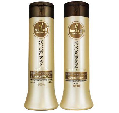 Kit Mandioca Shampoo Condicionador 300ml - Haskell