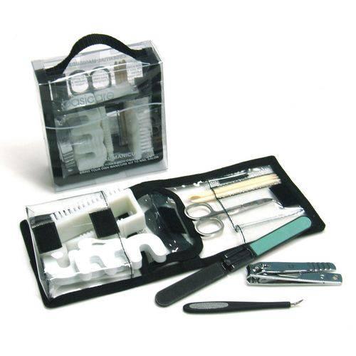 Kit Manicure e Pedicure Básico - Basicare