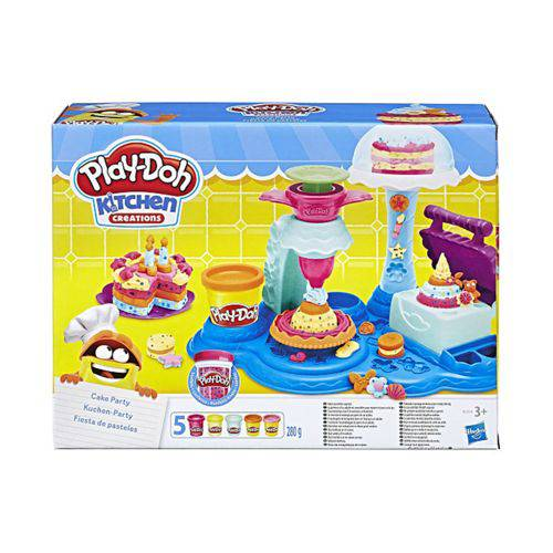 Kit Massinha Play Doh Festa de Bolos Hasbro