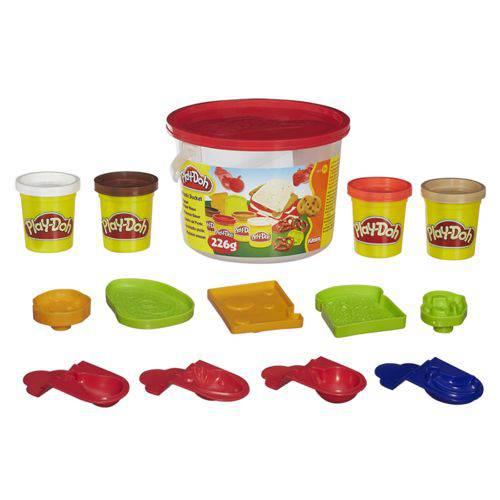 Kit Massinha Play Doh Mini Balde Picnic Hasbro