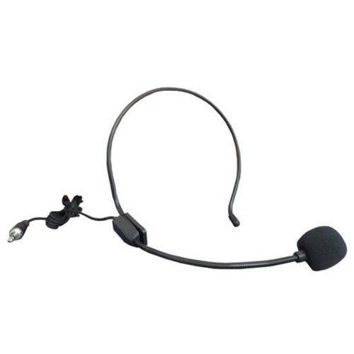 Kit Microfone Sem Fio com Lapela Head Set Wireless Auricular para Aulas