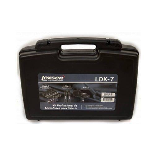 Kit Microfones para Bateria Ldk-7 Lexsen