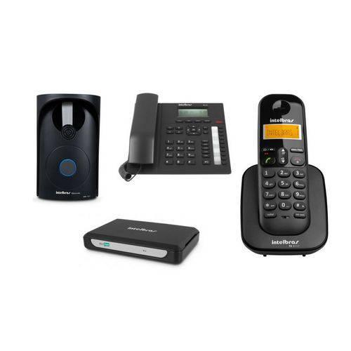Kit MiniCom Plus para Comunicação Telefônica Intelbras