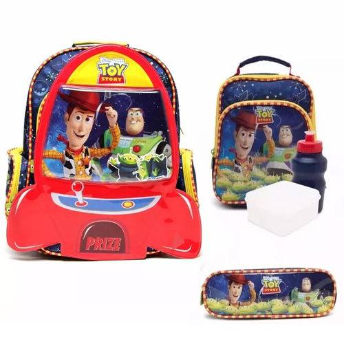 Kit Mochila Toy Story Completo de Costas Tam G Dermiwil