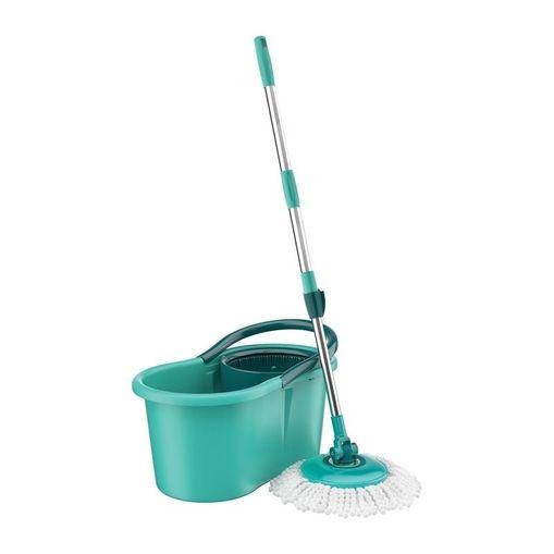Kit Mop Giratório Verde Água Flash Limp