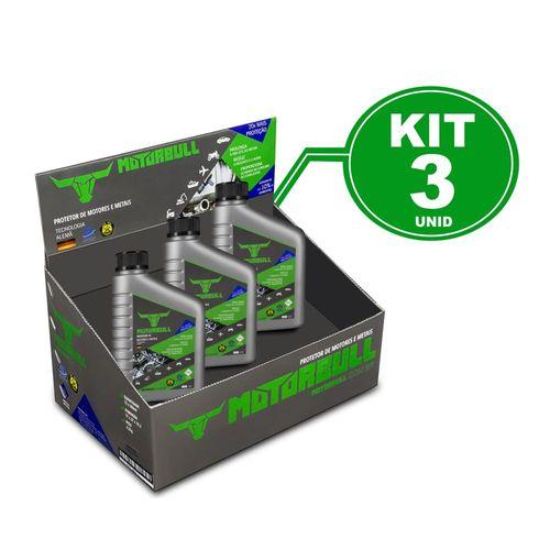 Kit 3 Motorbull Condicionador e Protetor de Motores e Metais 300ml