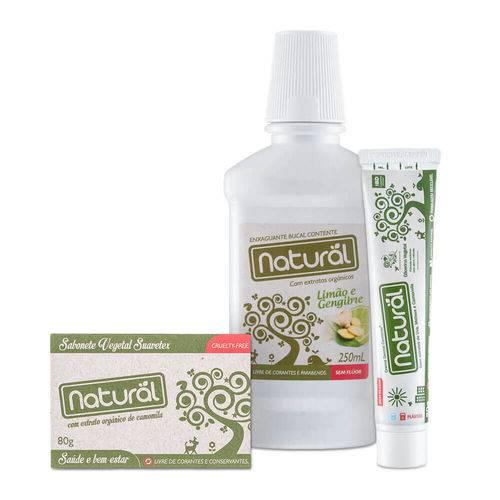 Kit Natural de Banho – Orgânico Natural