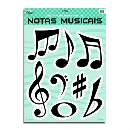 Kit Notas Musicais - 01 Unidade