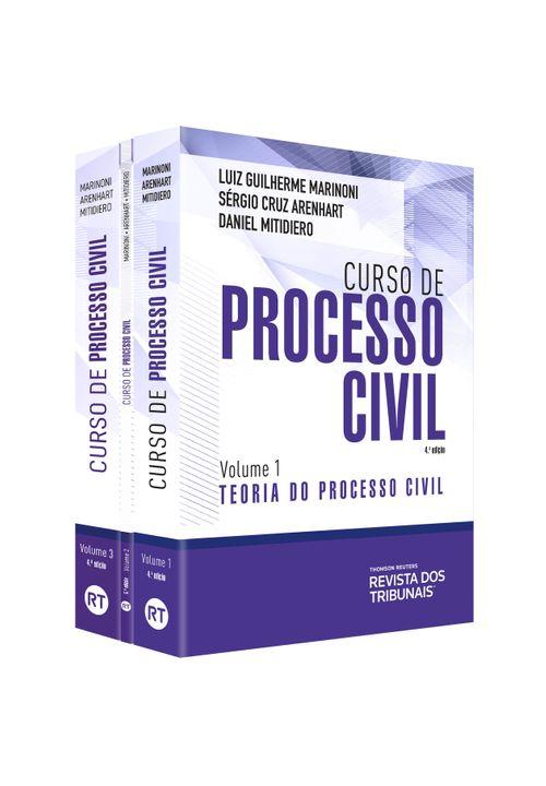 Kit Novo Curso de Processo Civil
