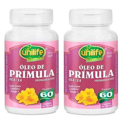 Kit 2 Óleo de Prímula - Unilife - 60 Capsulas