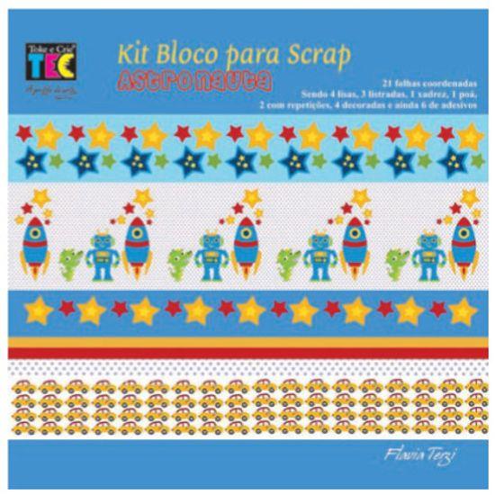 Kit P/Scrapbook Mini II Astronauta SCA3608 - Toke e Crie By Flavia Terzi Kit Scrapbook Mini II Astronauta SCA3608 - Toke e Crie By Flavia Terzi