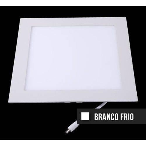 Kit Painel Plafon Led Slim 18w Branco Frio Quadrado (10 Peças)