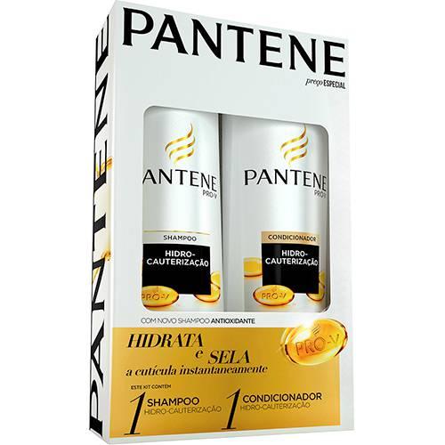 Kit Pantene Shampoo Hidro-Cauterização 400ml + Condicionador Hidro-Cauterização - 200ml