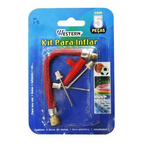 Kit para Inflar com 5 Peças - Western