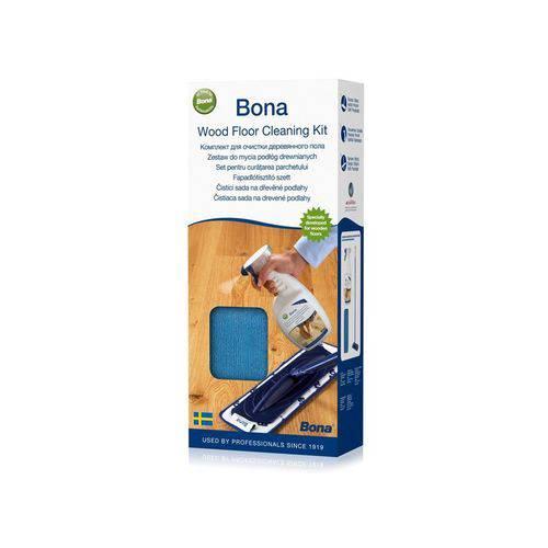 Kit para Limpeza de Piso Madeira - Bona