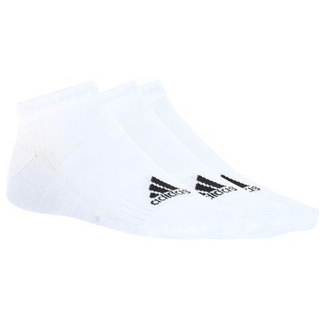 Kit 3 Pares Meias Adidas Liner Cushion Branco Único