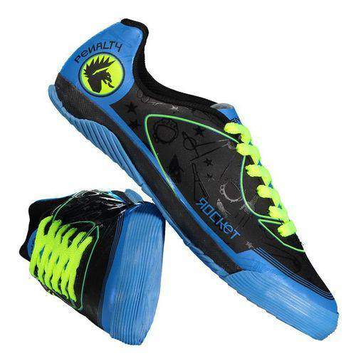 Kit Penalty Rocket VIII Futsal Juvenil Preto