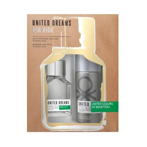 Kit Perfume Aim High Masculino Eau de Toilette 80ml + Desodorante 150ml