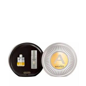 Kit Perfume Azzaro Wanted Masculino 100ml + Desodorante 150ml