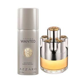 Kit Perfume Azzaro Wanted Masculino Eau de Toilette 100ml + Desodorante 150ml