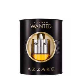 Kit Perfume Azzaro Wanted Masculino Eau de Toilette 100ml + Hidratante Facial 50ml