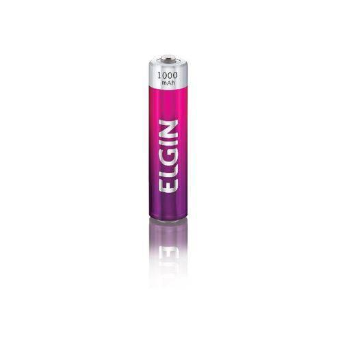Kit 2 Pilhas Recarregáveis AAA 1.000 MAh 82170 Elgin