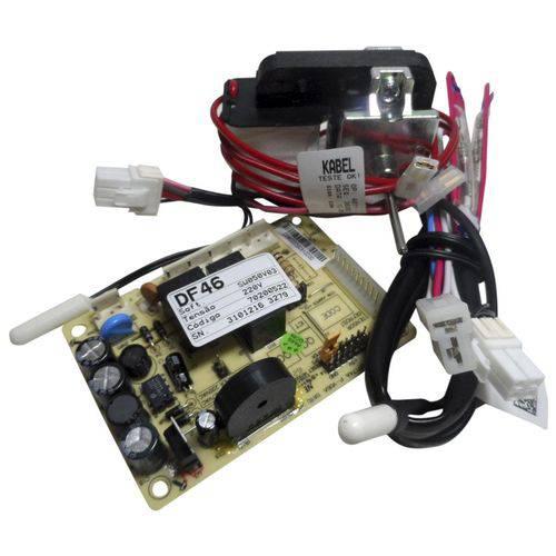Kit Placa Eletrônica Motor Ventilado Refrigerador Electrolux 220v 70001454