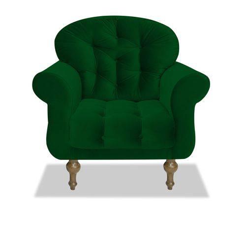 Poltrona Cadeira Dani para Recepção Sala Escritório Quarto Suede Rosa Bebê - AM DECOR