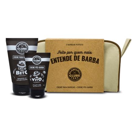 Kit Produtos para Barba + Necessaire Barbearia Clube