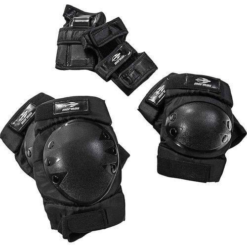 Kit Proteção Skate Tamanho M Mormaii