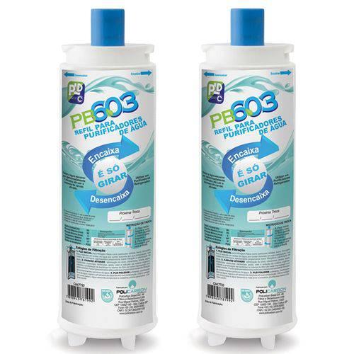 Kit 2 Refil Filtro Purificador de Água Ibbl Fr600 Speciale Immaginare Exclusive Expert