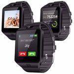 Kit Relógio DZ09 Smart e Caixa Som Bluetooth Prova Dagua