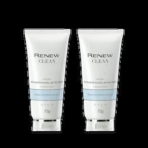 Kit Renew Clean Esfoliante Facial Uso Diário 75g