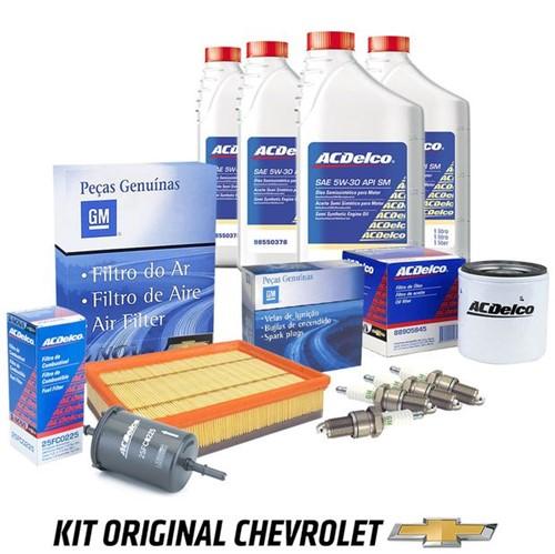 Kit Revisão Troca de Óleo Filtros e Velas 1.0 Kit472 Prisma /onix