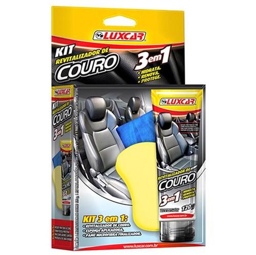 Kit Revitalizador Couro Luxcar