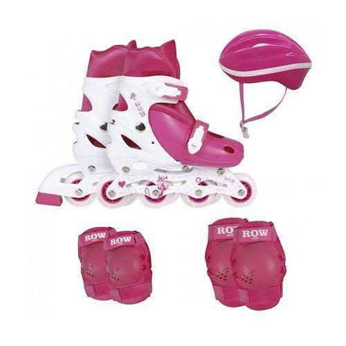 Kit Roller + Acessórios de Segurança 35-38 Rosa 40600103 MOR