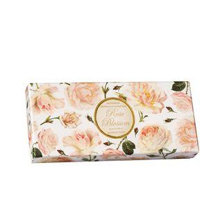 Kit Sabonete Rose Blossom Fiorentino - Sabonete Perfumado em Barra 3x 125g