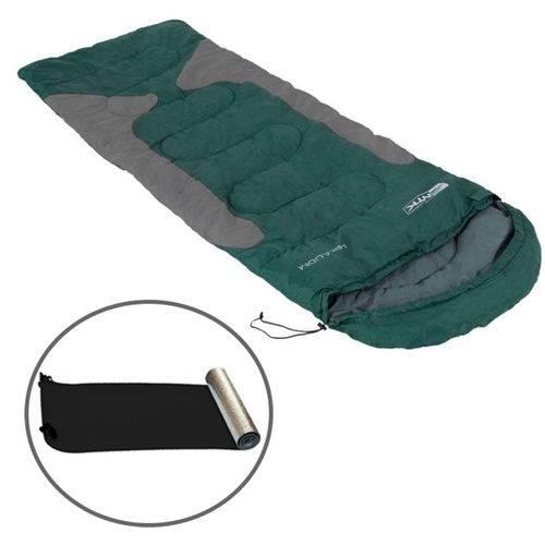 Kit Saco de Dormir Freedom -1,5ºc a -3,5ºc + Isolante Térmico Aluminizado - Nautika