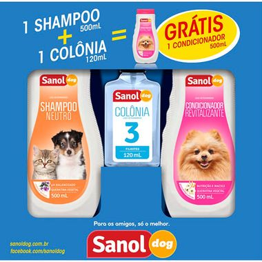 Kit Sanol Dog 3un.