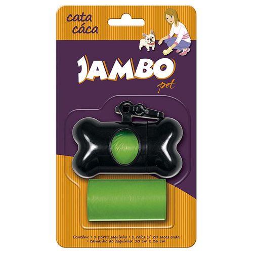 Kit Saquinho Jambo Pet Cata Caca Verde - 2 Unidades Único