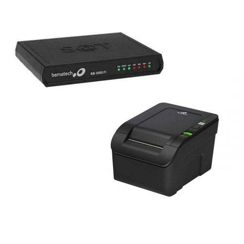 Kit Sat Rb-2000 Fi + Impressora Mp-100s Th - Bematech