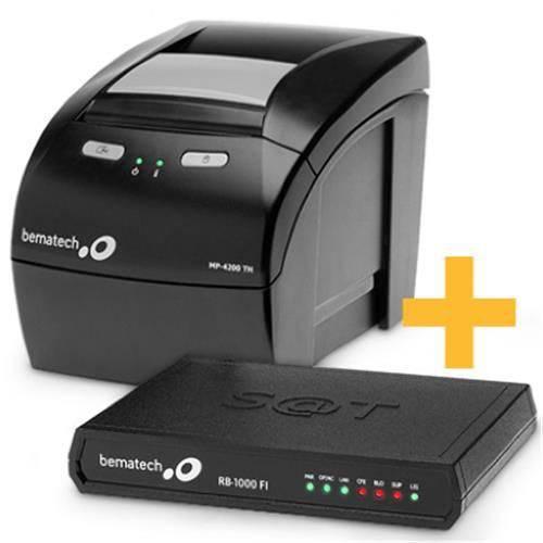 Kit Sat Rb2000 + Impressora Mp4200 Th - Bematech