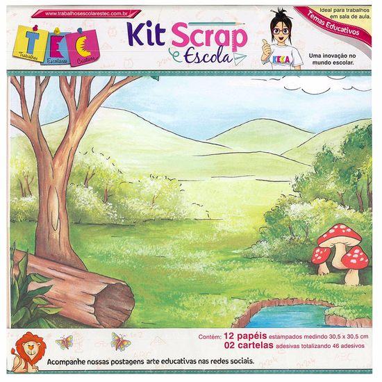 Kit Scrap Escola Kbse01 - Toke e Crie