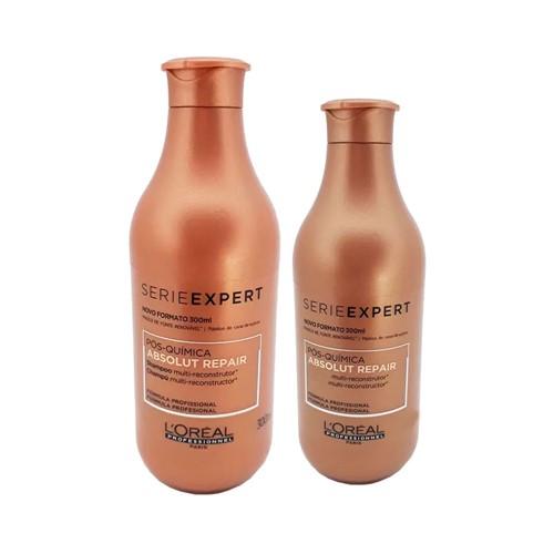 Kit Serie Expert Absolut Repair Pós Química Shampoo 300ml + Condicionador 200ml