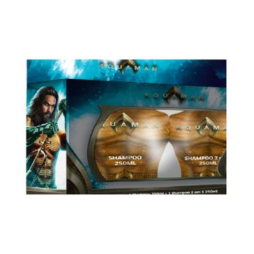 Kit Shampoo Aquaman 2un 250mlq