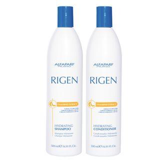 Kit Shampoo + Condicionador Alfaparf Rigen Hydrating Kit