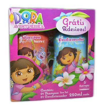 Kit Dora Shampoo + Condicionador com Adesivo Gratis 250ml Cada