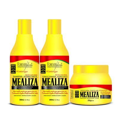 Kit Shampoo Condicionador e Máscara MeAliza - Forever Liss