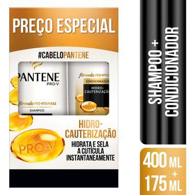 Kit Shampoo + Condicionador Hidrocauterização Pantene 400+175ml