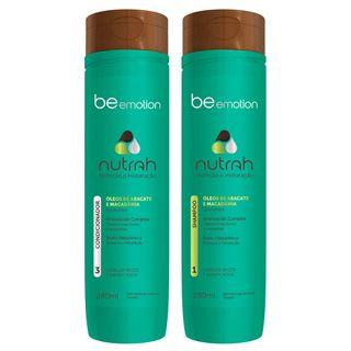 Kit Shampoo + Condicionador Nutrah Be Emotion